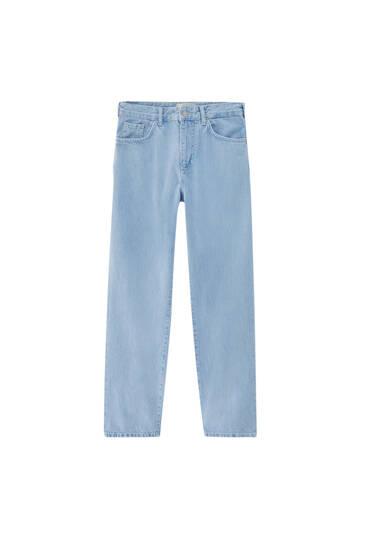 Базовые джинсы оверсайз