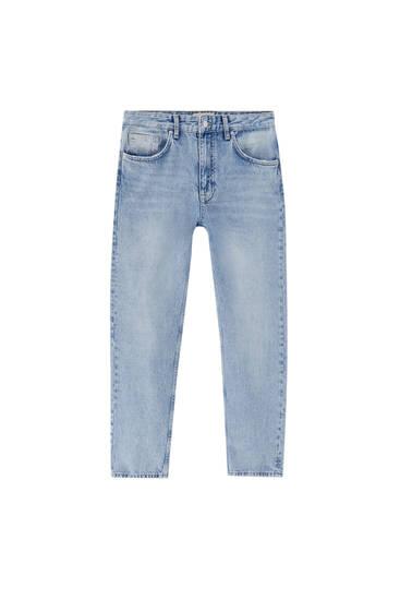 Вінтажні джинси прямого крою