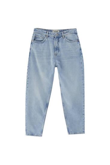 Jeans loose fit tejido premium