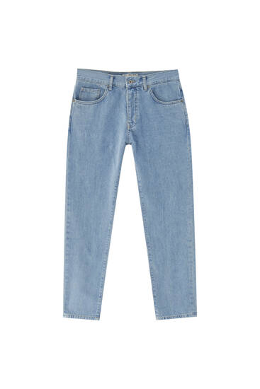 90s straight slim fit jeans