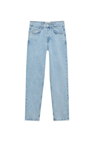 Loose-fit straight-leg jeans
