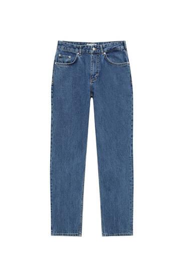Basic dad fit jeans