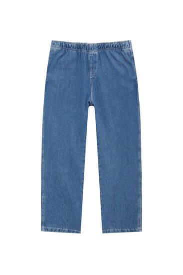 Beach-Fit-Jeans mit Stretchbund