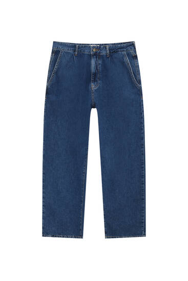 Chino-Jeans im Balloon-Fit