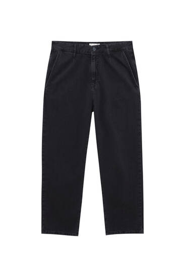 Jeans chinos balão fit