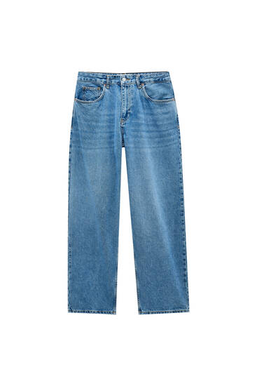 Jeans baggy fit azules