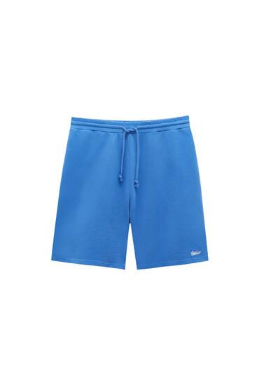 STWD coloured jogger Bermuda shorts