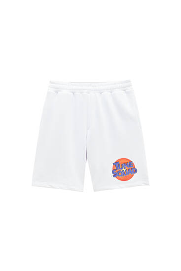 Bermudes jogger Space Jam blanques