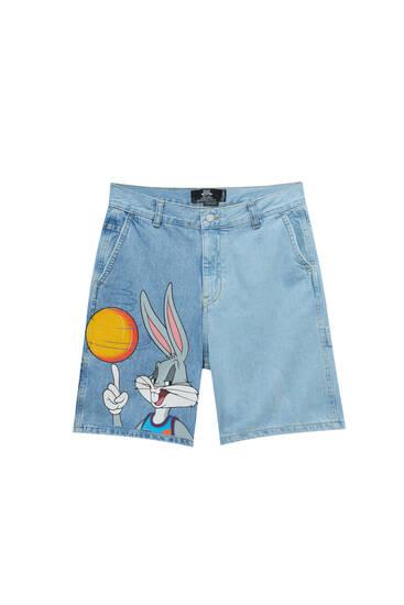 Джинсові шорти SpaceJam із Bugs Bunny
