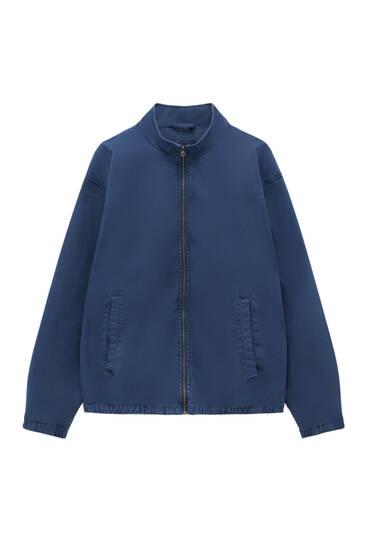 Classic jacket with zip