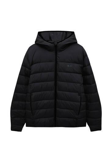 Базовая стеганая куртка из легкой ткани