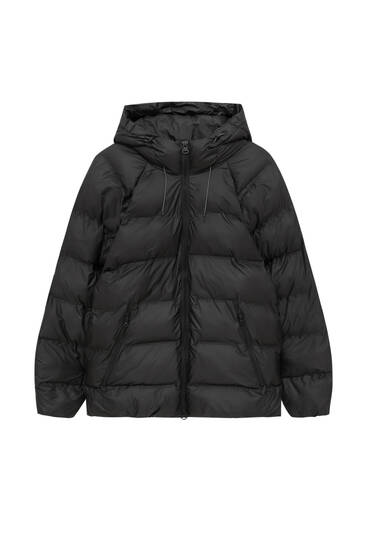 Thermo-sealed puffer jacket