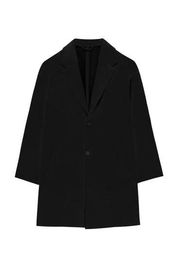 Basic comfort fit coat