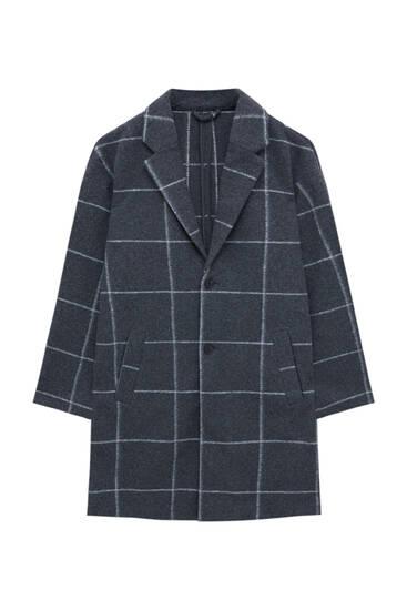 Базовое пальто комфортного кроя