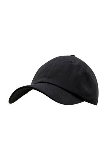 Basic black cap