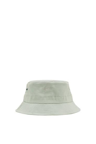 STWD logo print bucket hat