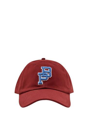 Καπέλο τζόκεϊ με κέντημα