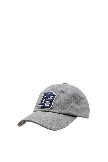 Grey cap with front logo