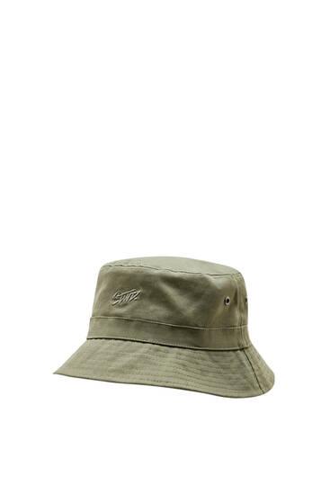 Καπέλο bucket με κεντημένο λογότυπο STWD