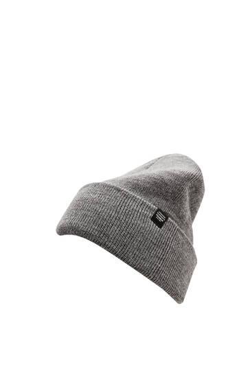Basic knit beanie
