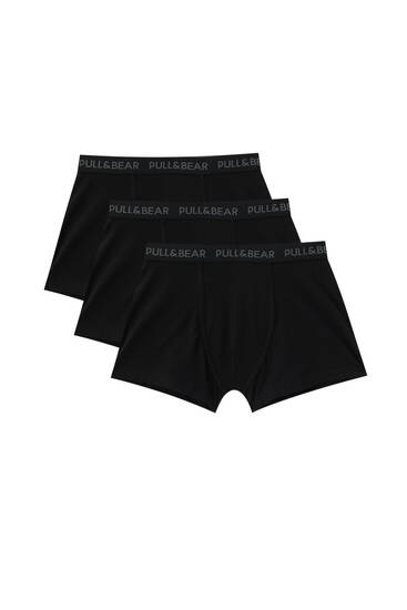 Pack of 3 basic boxers