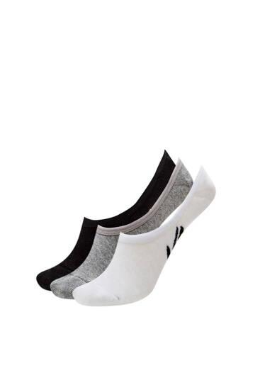 Σετ με χαμηλές κάλτσες από ύφασμα terry