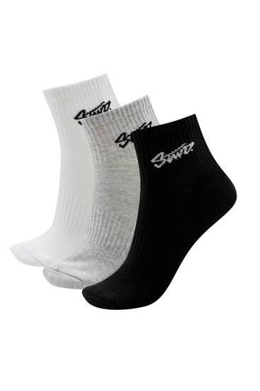 Σετ με χαμηλές κάλτσες STWD
