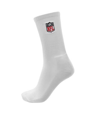 Calzini sportivi bianchi NFL