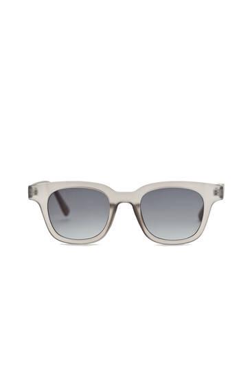 Gafas sol gris mate