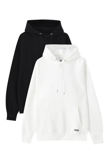Pack of 2 hoodies