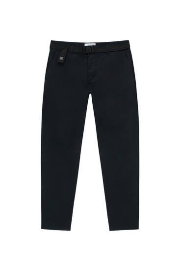 Вишукані штани-скіні з кишенями-карго