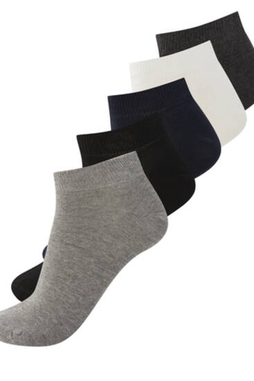 5-pack of short coloured socks