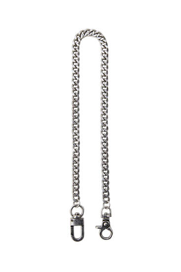 Silver chain trousers