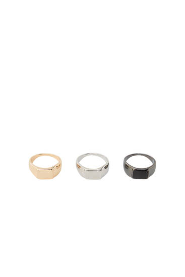 Pack of signet rings