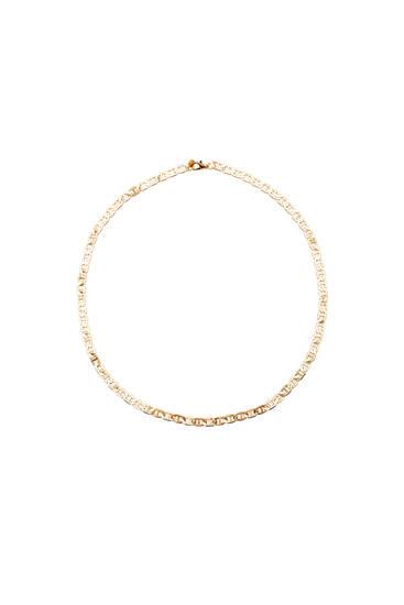 Collar dorado cadena