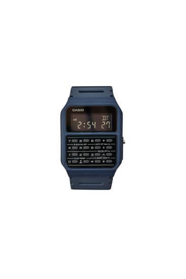 Blue Casio CA-53WF-2BEF vintage watch