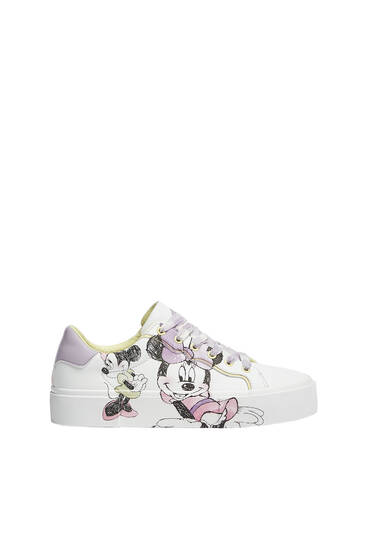 Casual Minnie Mouse trainers