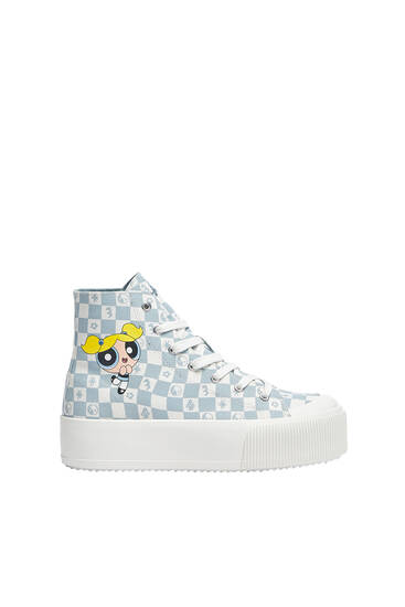 Las Supernenas high-top trainers