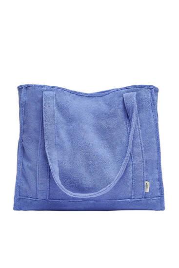 Πετσετέ τσάντα shopper με δυνατότητα εξατομίκευσης