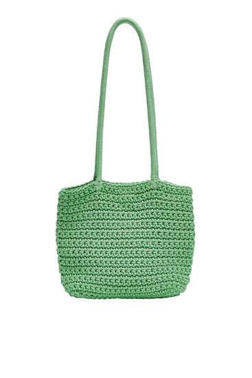Mini shopper crochet