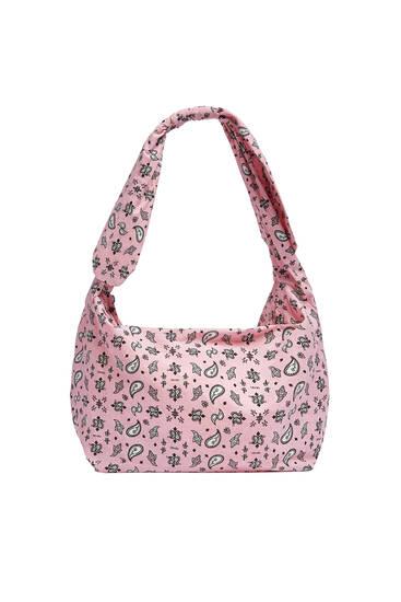 Paisley print bag