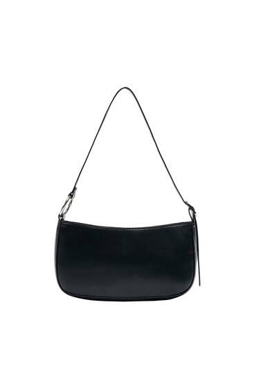 Shoulder bag with buckle detail