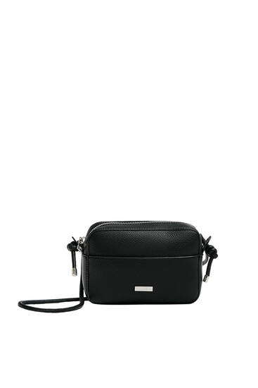 Crossbody bag with knot details