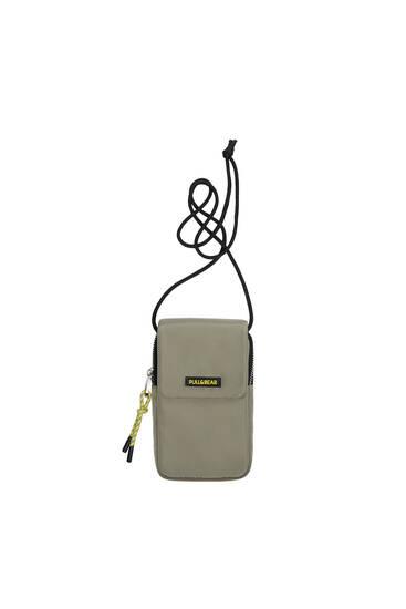 Nylon crossbody mobile phone bag