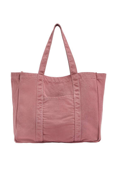 Customisable fabric tote bag