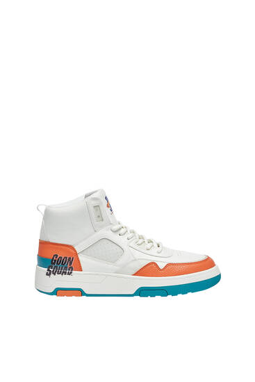 Space Jam high-top trainers