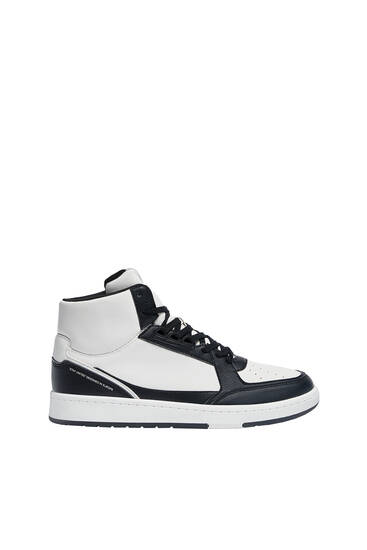 High-top basketball shoes