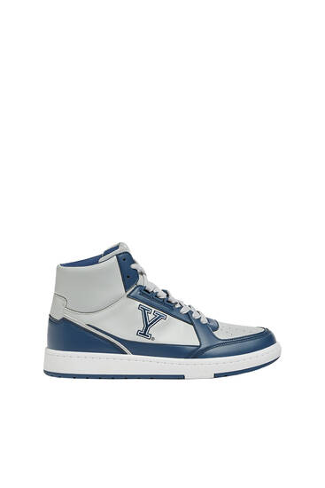 Yale varsity high-top trainers