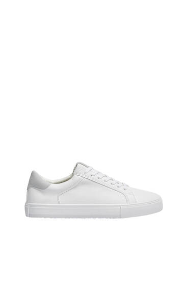 Casual perforated trainers