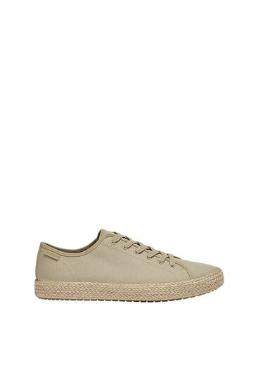 Casual jute trainers